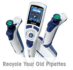 Recycle Your Pipettes and Upgrade to New Rainin LTS Pipettes