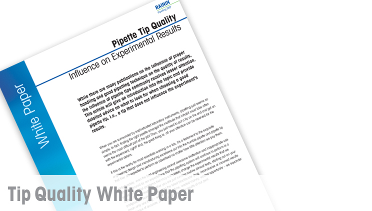Pipette Tip Quality White Paper